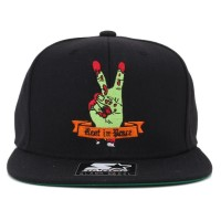 Bon� Starter Snapback Best In Peace Black