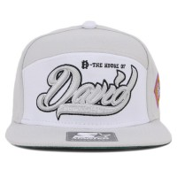 Bon� Starter Strapback Five Panel The House Of David Grey/White