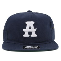 Bon� Starter Strapback Atlanta Black Crackers Navy