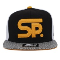 Bon� Starter Snapback SP White/Black/Printed