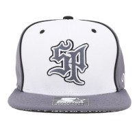 Bon� Starter Snapback SP Grey/White