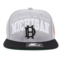 Bon� Starter Snapback David Michigan Grey/Black