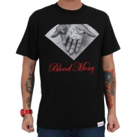 Camiseta Diamond Supply Co Blood Money Black