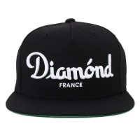 Bon� Diamond Supply Co Snapback Champagne Black