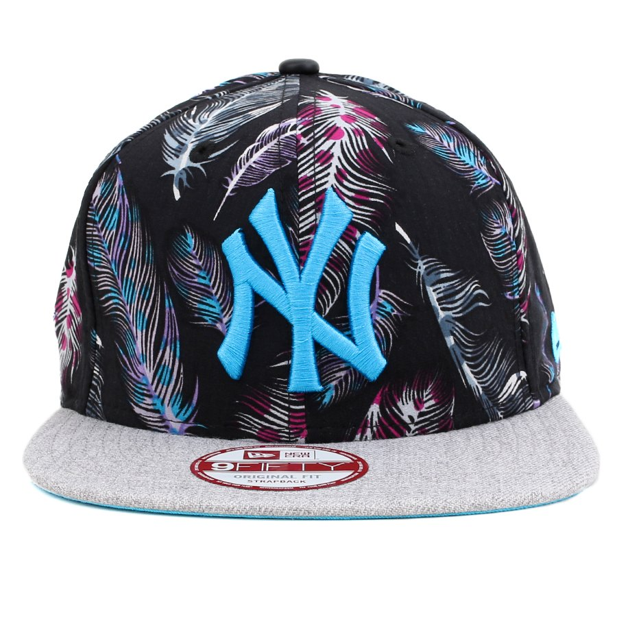 Boné New Era 9FIFTY Original Fit Strapback New York Yankees Printed / Grey - MLB