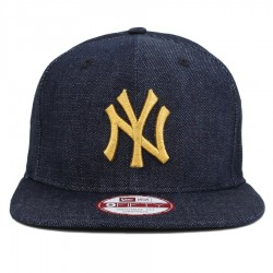 Bon� New Era 9FIFTY Original Fit Strapback New York Yankees Jeans Blue/Gold