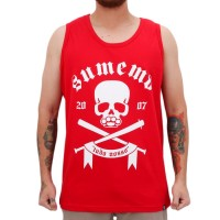 Camiseta Sumemo Regata Caveir�o Red
