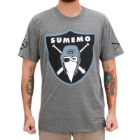 Camiseta Sumemo Raiders Grey