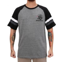 Camiseta Sumemo Raglac Grey/Black
