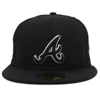 Bon� New Era 59FIFTY Atlanta Braves Black