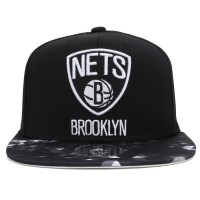 Bon� Adidas Snapback Brooklyn Nets Black/Printed