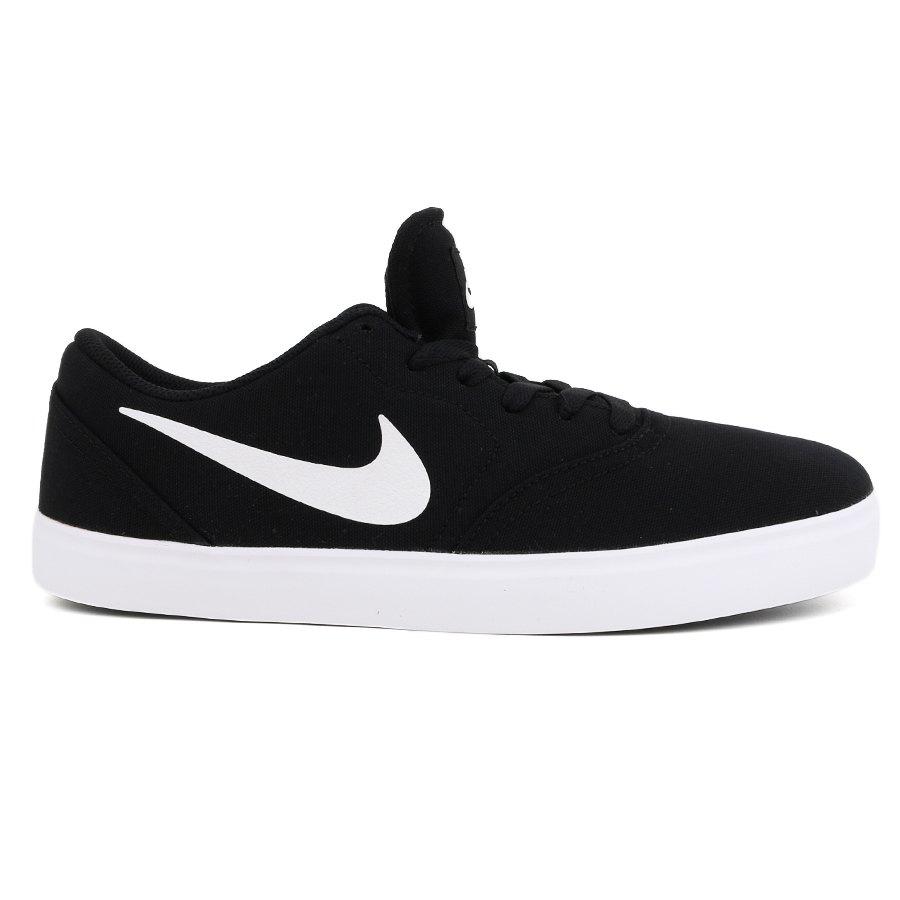 Tênis Nike SB Check CNVS Black / White - Check CNVS