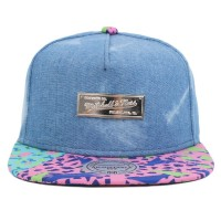 Bon� Mitchell and Ness Snapback MN Own Camo Jeans Blue/Printed