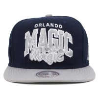 Bon� Mitchell and Ness Snapback Orlando Magic Navy/Grey