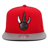 Bon� Mitchell And Ness Snapback Toronto Raptors Red/Grey