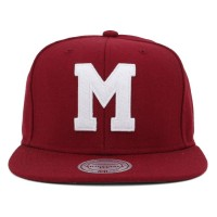 Bon� Mitchell And Ness Snapback Marist college Wine