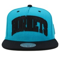 Bon� Mitchell And Ness Snapback Charlotte Hornets Green/Black