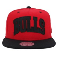 Bon� Mitchell and Ness Snapback Chicago Bulls Red/Black