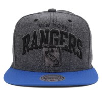 Bon� Mitchell And Ness Snapback New York Rangers Jeans Black/Royal