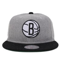 Bon� Mitchell and Ness Snapback Brooklyn Nets Grey/Black