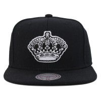 Bon� Mitchell and Ness Snapback Sacramento Kings Black