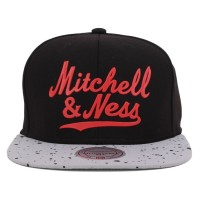 Bon� Mitchell And Ness Snapback Fly Black/ Grey Printed