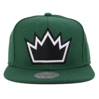 Bon� Mitchell and Ness Snapback Sacramento Kings Green