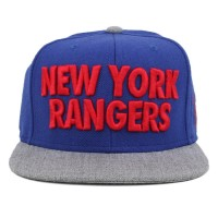 Bon� Mitchell And Ness Snapback New York Rangers Royal/Grey