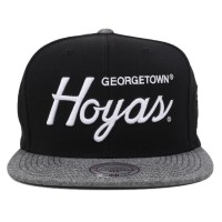 Bon� Mitchell And Ness Snapback Georgetown Hoyas Black/Grey
