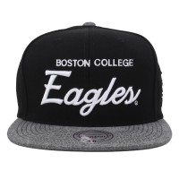 Bon� Mitchell and Ness Snapback Boston College Eagles Black/Grey