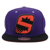 Bon� Mitchell and Ness Snapback Phoenix Suns Purple/Black