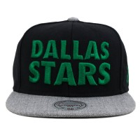 Bon� Mitchell and Ness Snapback Dallas Stars Black/Grey