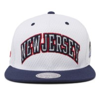 Bon� Mitchell and Ness Snapback New Jersey Devils White/Navy