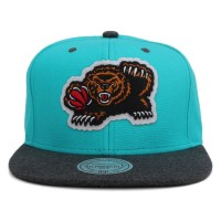 Bon� Mitchell And Ness Snapback Vancouver Grizzlies Green/Grey