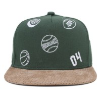 Bon� Mitchell And Ness Snapback Function Green/Brown