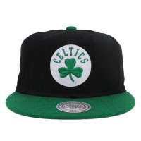 Bon� Mitchell and Ness Snapback Boston Celtics Black/Green