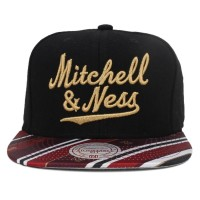 Bon� Mitchell And Ness Snapback Tie Black/Printed