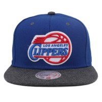 Bon� Mitchell and Ness Snapback Los Angeles Clippers Royal/Grey