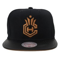 Bon� Mitchell and Ness Snapback Houston Rockets Black