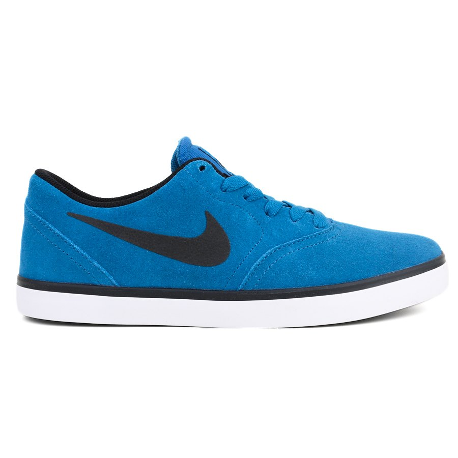 Tênis Nike SB Check Brigade Blue / Black - White - Check CNVS
