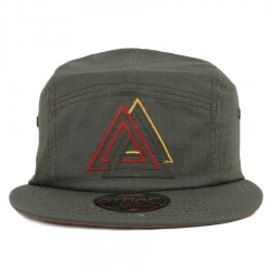 Bon� Official 5 Panel Strapback Triangle Green