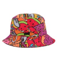 Bucket Hat Official Pink Printed