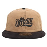 Bon� Official Strapback Script Brown/Black