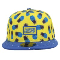 Bon� Official Strapback Pineapple Yellow/Royal