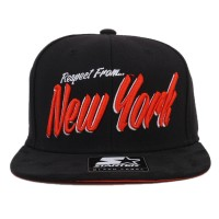 Bon� Starter Snapback Respect From New York Black