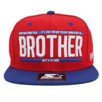 Bon� Starter Snapback Brother Red/Royal