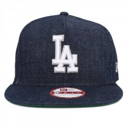 Bon� New Era 9FIFTY A-Frame Strapback Los Angeles Dodgers Jeans Blue