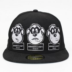 Bon� New Era 59FIFTY Irm�os Metralha(Beagle Boys) Black
