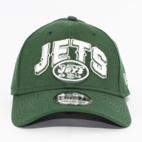 Bon� New Era 39THIRTY Small-Medium Aba Curva New York Jets Green