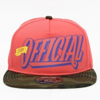 Bon� Official Snapback Stay Salmon